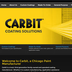 Chicago Manufacturing Web Design
