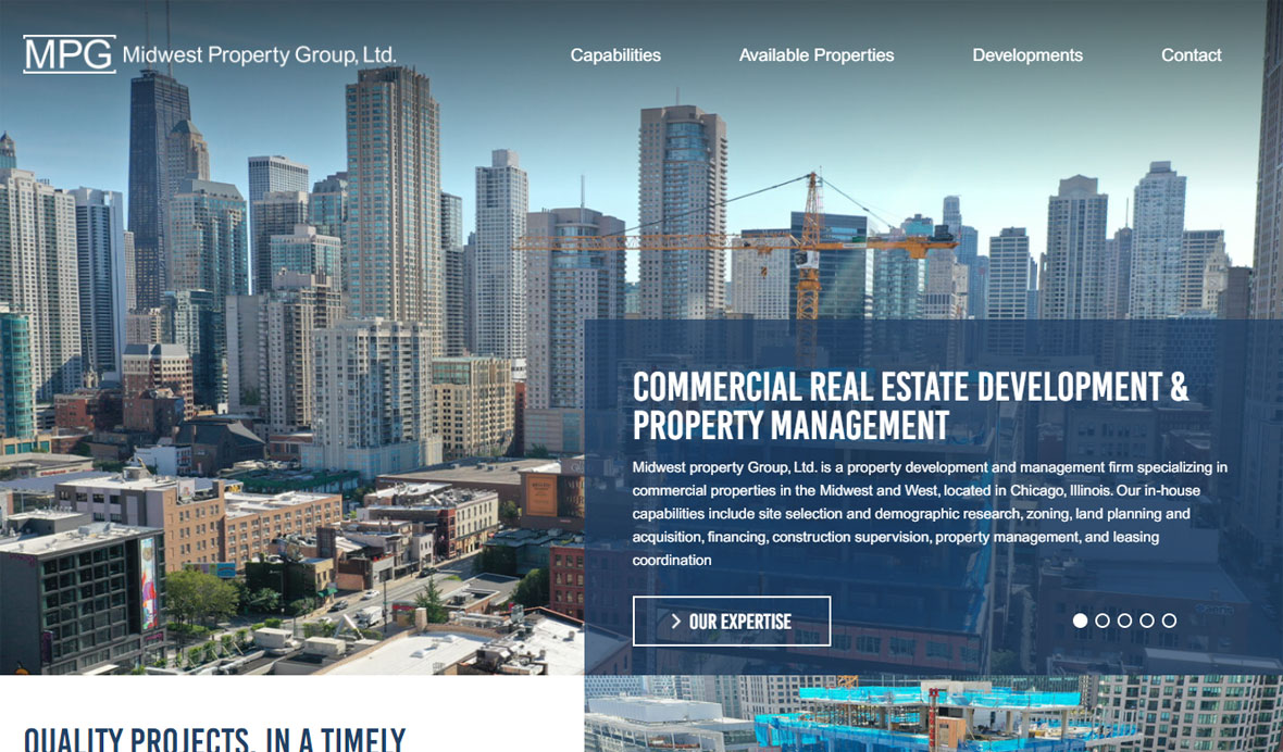 Property Group Web Design