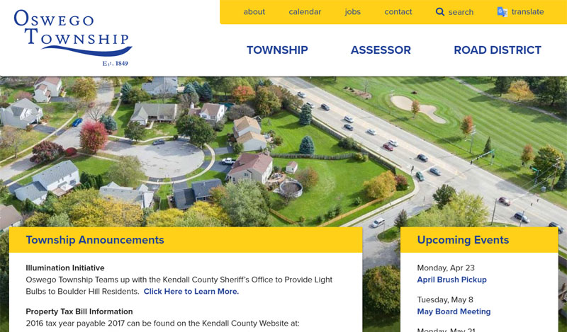 Municipal Web Design