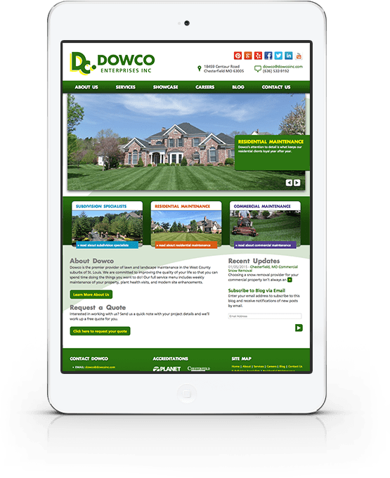 St. Charles, MO Website Design / Web Development