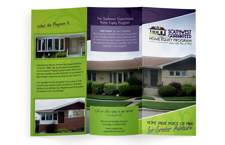 Brochure Design Tri Fold Design Chicago Il