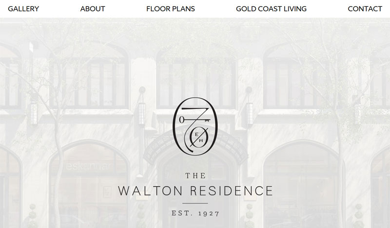 Apartment Rental Web Design