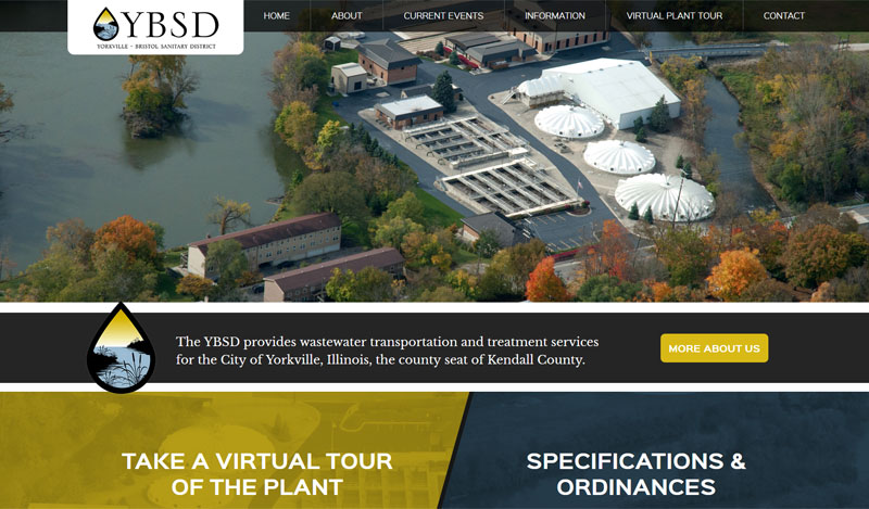 Water District Web Design