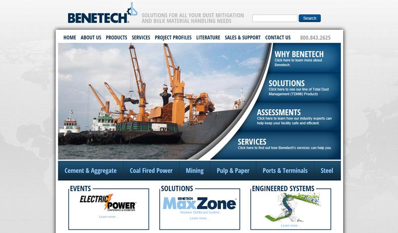 industrial web design chicago