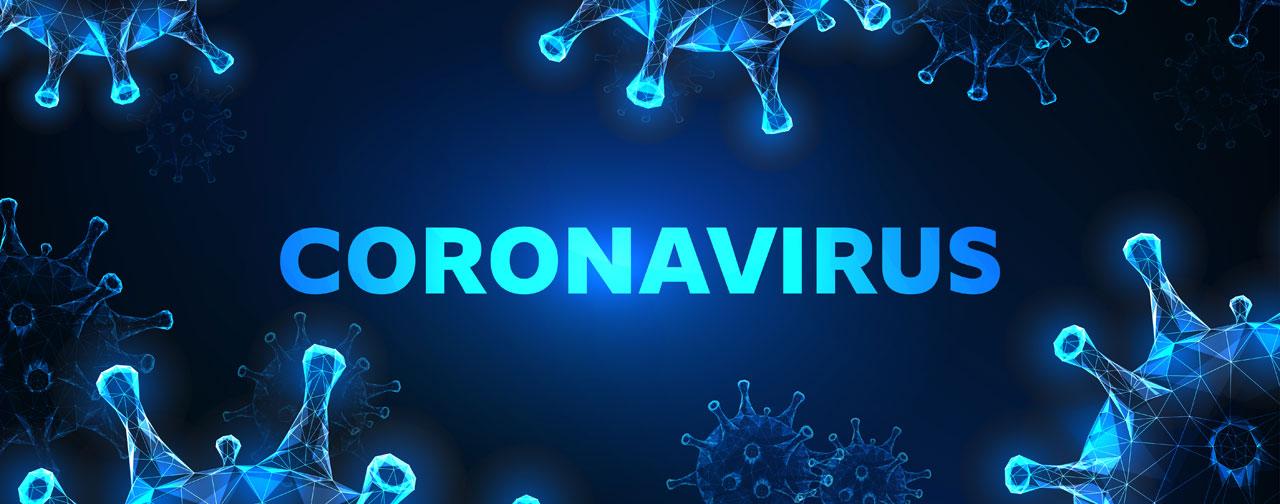 coronavirus website strategy