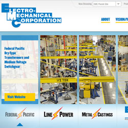manufacturing web design