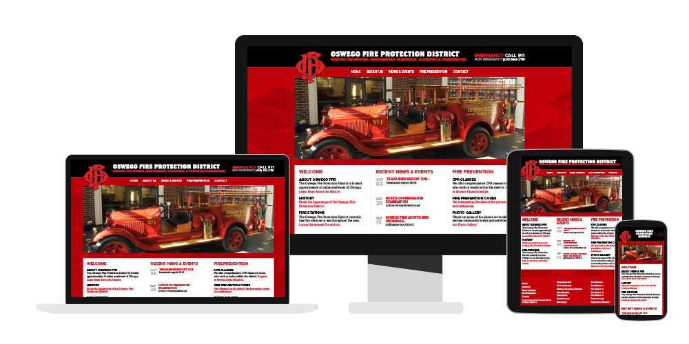 fire district web design