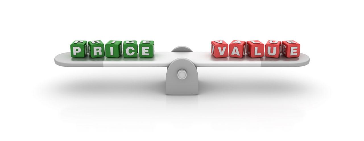 web design price and value